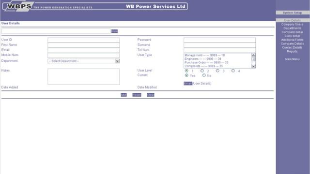 W.B. Power Services