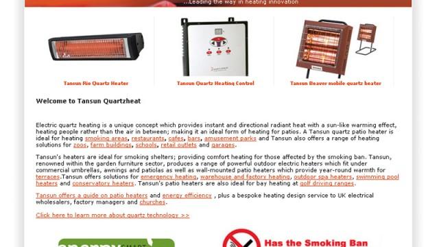 Tansun Patio Heating