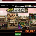 Robo Buck's Garage Intro Screen