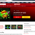 Jackpots Of Goo Sky Vegas Info Screen