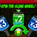 Jackpots Of Goo Slime Wheel Feature
