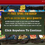 Free Spins Bonus Start