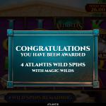 10 Atlantis Wild Spins