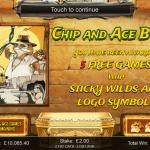 10 Chip & Ace Bonus Splash Screen