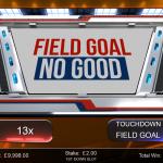 10 First Down Bonus Field Goal Result