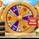 10 Pharaoh Spins Wheel