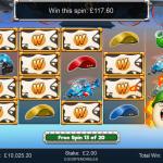11 Bonus 3 Wilds Win