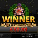 11 Bonus Game Result