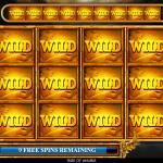 11 Free Spins Bonus Max Wilds