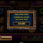 11 Free Spins Bonus Result