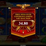 11 Super Free Spins Bonus Win