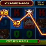 12 Buffalo Spins Multiplier Win