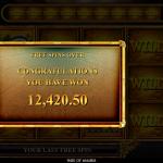 12 Free Spins Bonus Result