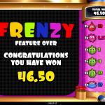 12 Frenzy Bonus Result