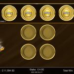12 Gold Bonus 1st Level Chips Placed