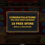 12 Pharaoh Spins Splash Screen