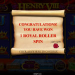 12 Royal Roller Bonus Splash Screen