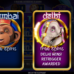 13 Delhi Free Spins Retrigger