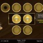 13 Gold Bonus 2nd Level Chips Placed