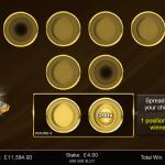 14 Gold Bonus 3rd Level Chips Placed