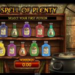 14 Spell Of Plenty Bonus