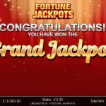 15 Fortune Jackpots Grand Jackpot Win