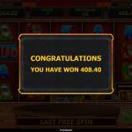 15 Pharaoh Spins Bonus Result