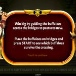 16 Buffalo Drops Bonus Splash Screen