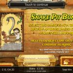 17 Snake Pit Bonus Splash Screen