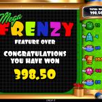 18 Mega Frenzy Bonus Result