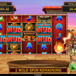 18 Pharaoh Wild Spins Wandering Wild Award
