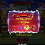22 Ramblo Bonus Splash Screen