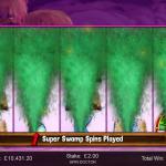 24 Super Swamp Spins Bonus