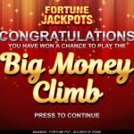 3 Fortune Jackpots Feature Splash Screen