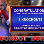 3 Knockout Bonus Splash Screen