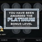 3 Platinum Bonus
