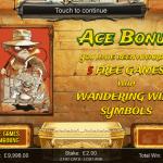 4 Ace Bonus Splash Screen