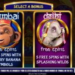 4 Bonus Game Choice