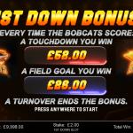 4 First Down Bonus