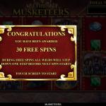 4 Free Spins Bonus Splash Screen
