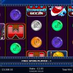 4 Freespins Bonus Screen