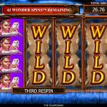 4 Wonder Spins Stacked Wild