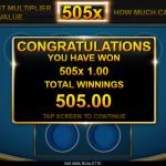 6 Bonus Round 3 Win