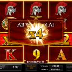 6 Free Spins Multiplier Symbol
