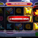 6 Free Spins Wandering Wilds