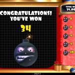 7 Bomb It Bonus Result