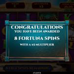 7 Fortuna Spins Splash Screen
