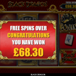 7 Free Spins Win