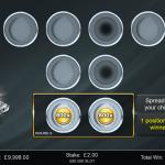 7 Platinum Bonus 3rd Level Chips Placed
