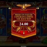7 Prizes On Parade Bonus Win